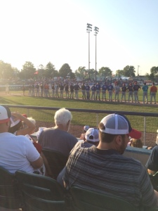 My view of the Northwoods League All-Star Game